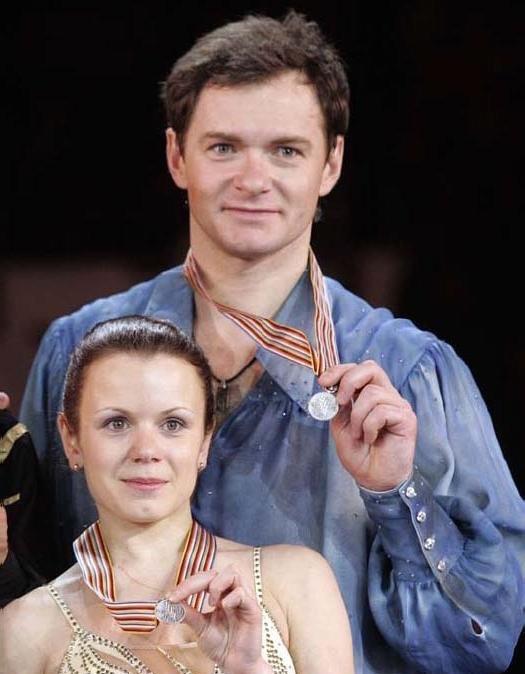 Image: Maria Petrova and Alexei Tikhonov from Fandom