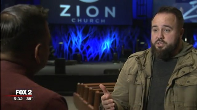 Image: Pastor Jared Wizner from Fox 2