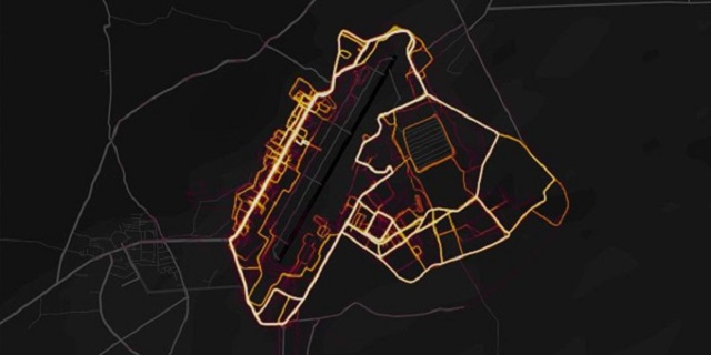 Strava heat map security concern 2018