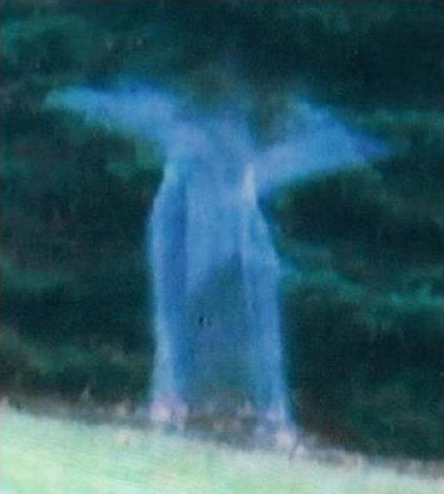 Angelic spirit captured in Michigan