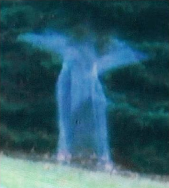Angelic spirit captured in Michigan