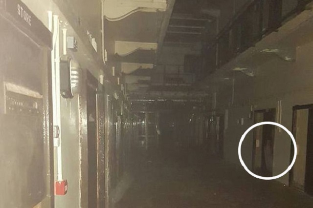 Ghost girl Crumlin Road Gaol Belfast