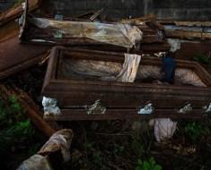 Old coffins