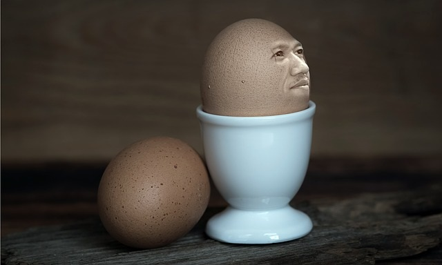 Been cursed Break an egg to see