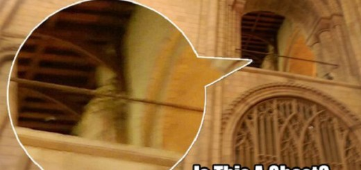 Bishop's Ghost Photographed Inside Medieval Cathedral
