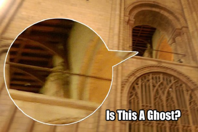 Norwich Cathedral Bishop ghost