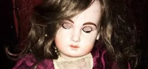 Doll So Haunted Owners Move Her Wearing Hazmat Suit