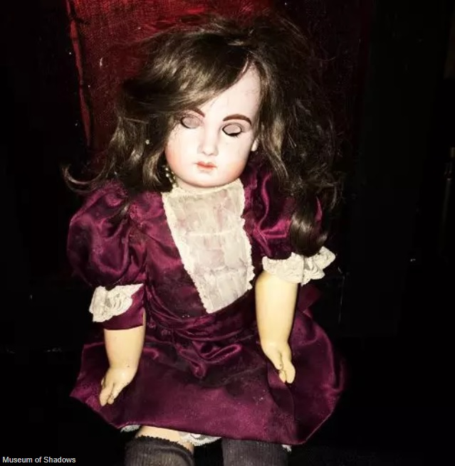 Ayda the Haunted Doll