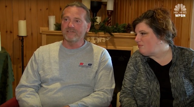 Image: Glen Thorman and wife/NBC News
