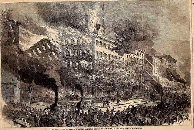 Barnum Fire New York