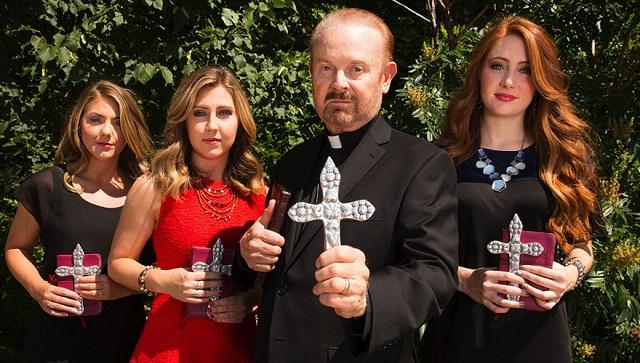 Bob Larson et ses filles