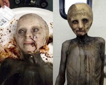 alien props Xfiles television series