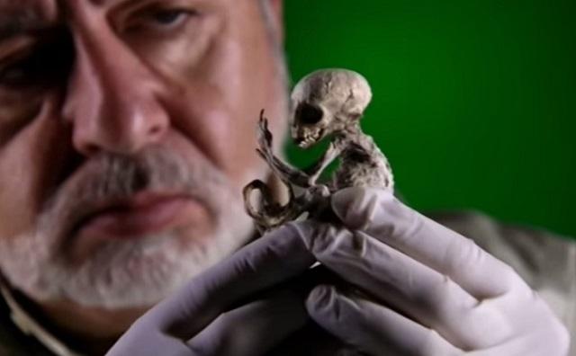 Baby alien found in Mexico