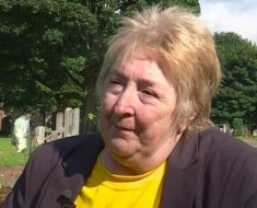 Lydia Reid from Scotland mourns son