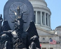 Baphomet statue in Arkansas Capitol Building