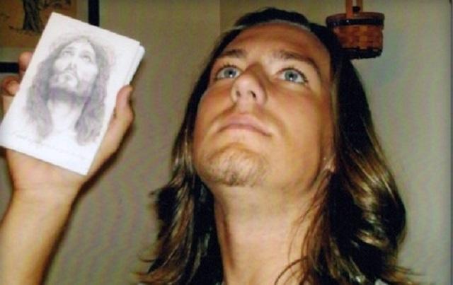 Mark Emery spent money to look like Jesus
