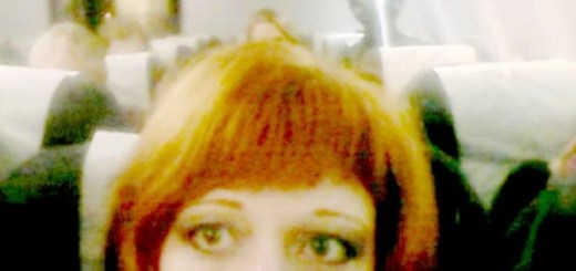 Ghostly Alien Photobombs Russian Woman On Plane