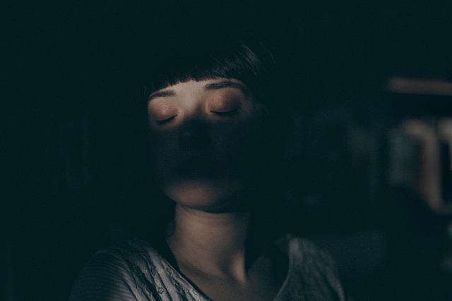 Sleepwalker at night