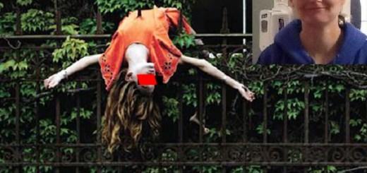 Dead Woman Mistaken For Halloween Decoration