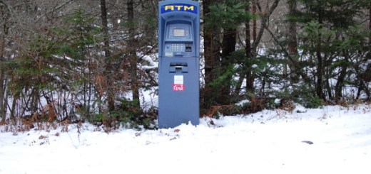 Mysterious ATM Machine Found In Wilderness