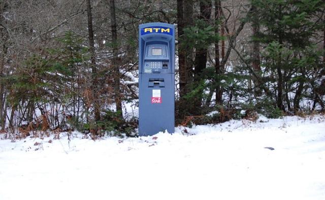 ATM Machine Found In Wilderness