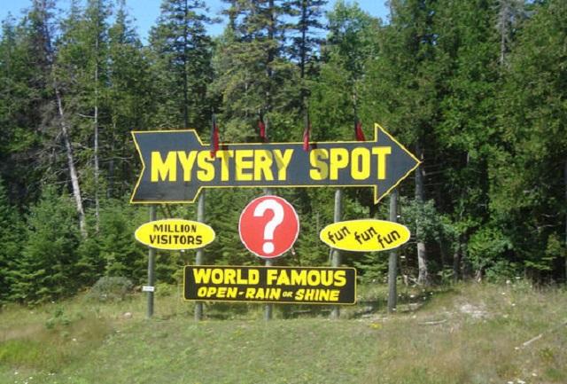Mystery Spot St. Ignace