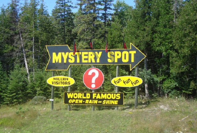"""Mystifying """"Mystery Spots"""" and """"Gravity Hills"""" Bedazzle Visitors Everywhere"""