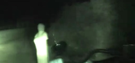 Ghostly 'Lady In White' Recorded On India Backroad