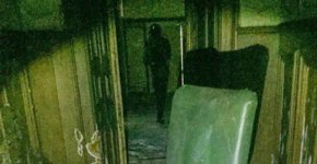 Shadow figure captured on camera UK