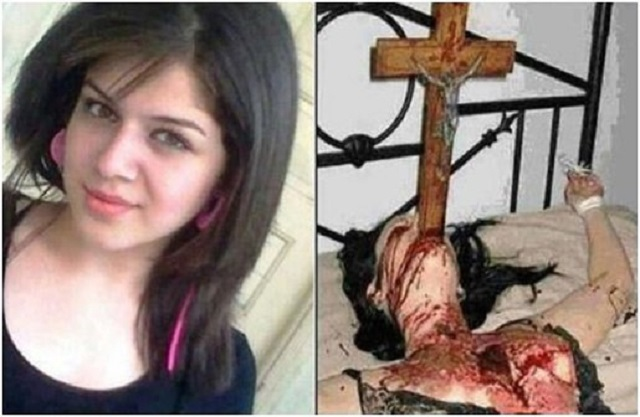 Mother Forces Crucifix Down Possessed Daughters Throat Killing Her