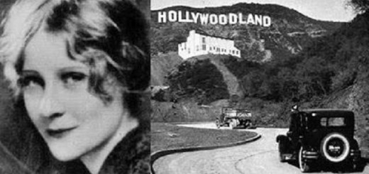 The Hollywood Sign Ghost