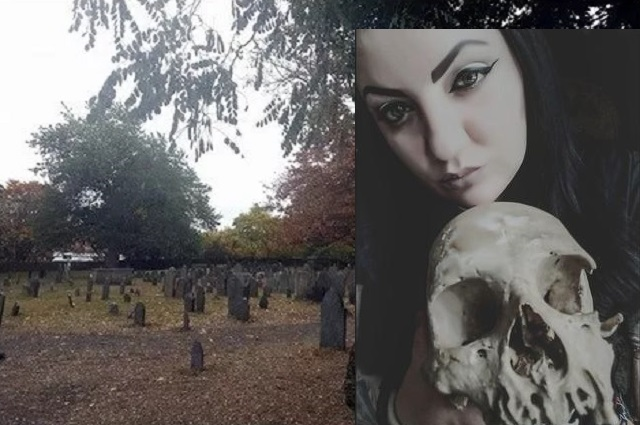 Salem Witch Trials Grave Site Athena Cameron Dirt Stolen