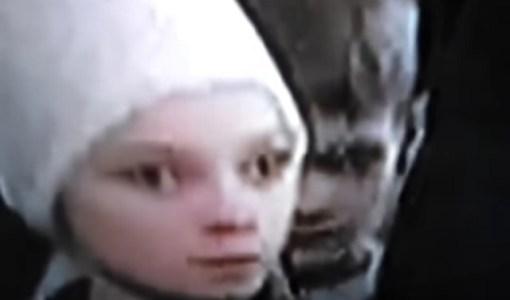 Alien reptilian children in Russia with Putin