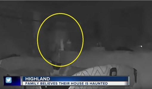 Michigan couple says ghost seen on nanny cam
