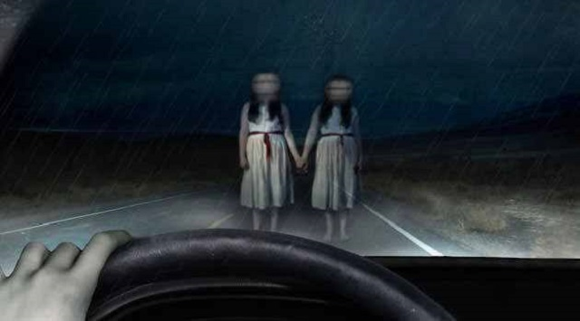 Twin sisters from beyond the grave