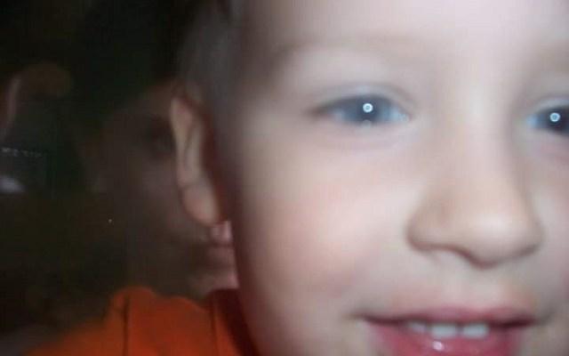 Lori McGhee paranormal photograph 3 year old son
