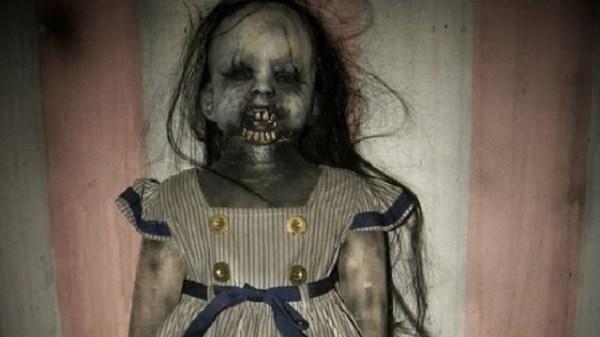 Creepy Haunted Doll