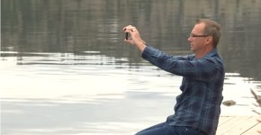 Canadian-Man-Captures-Ogopogo-On-Camera