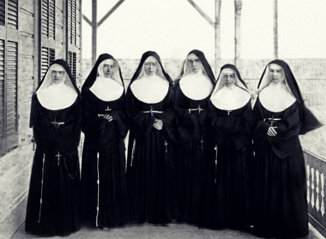 Nuns Meow Like Cats