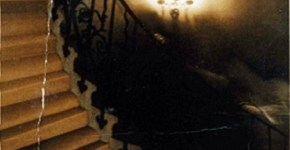 Tulip Staircase Ghost Photo