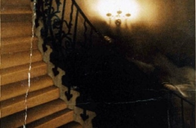 Photo de fantôme d'escalier de tulipe
