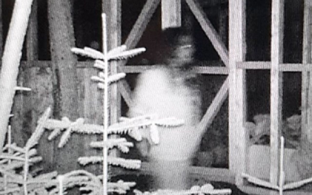 Crackhead Or Creepy Spirit On Camera