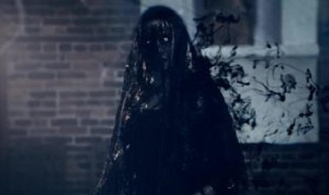 Elderly ghost lady