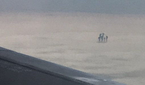 Man Photographs Extraterrestrial Entities Hovering High Within The Clouds