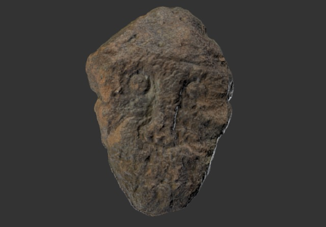 Unidentified Stone Carved Face Found Stumps Archaeologists