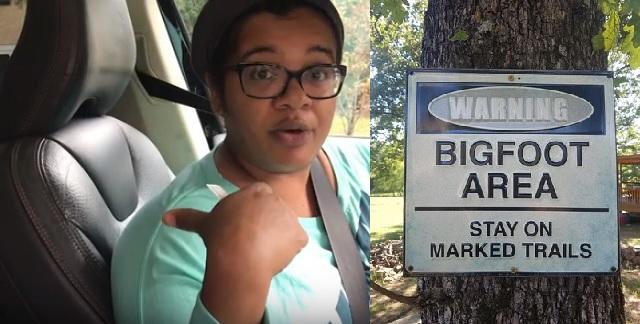 Eboni Byrd from North Carolina Bigfoot Witness