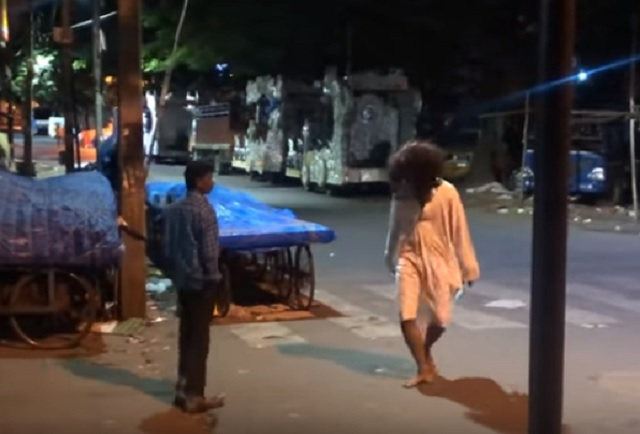 Ghost prank in India