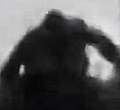 Creature believed to be Bigfoot in Russia
