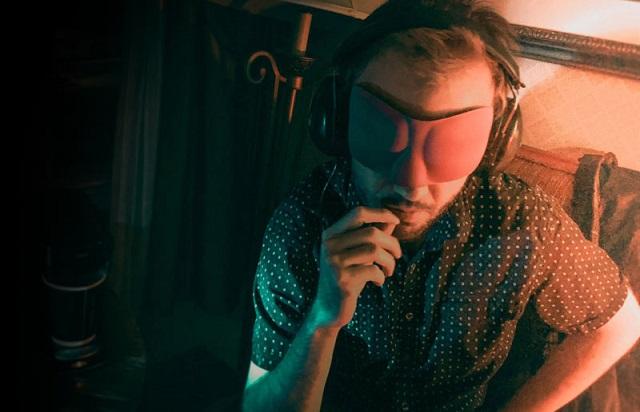 The Estes Method Karl Pfeiffer blindfolded headphones