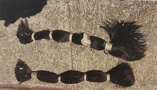 Multiple Bundles Of Hair Were Found Around Santa Barbara